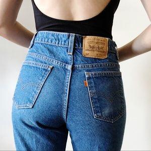 Vintage Levi's orange tab 517 jeans 80s/90s